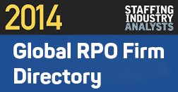 2014 Staffing Industry Analysts_Global RPO Directory Graphic