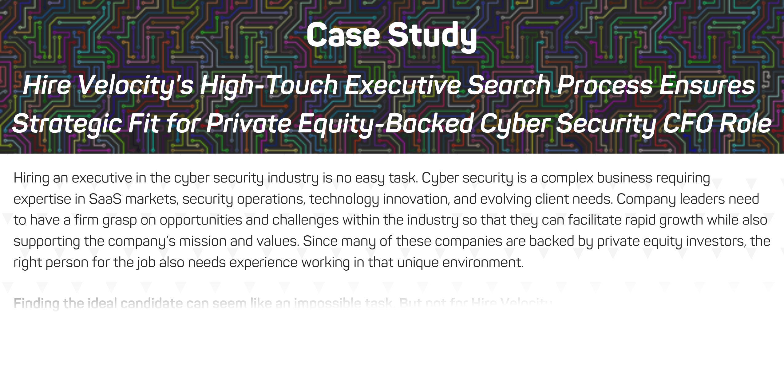 Cyber Security Case Study_Executive CFO Search Faded Image