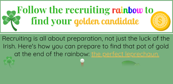 Follow the Recruiting Rainbow - Infographic
