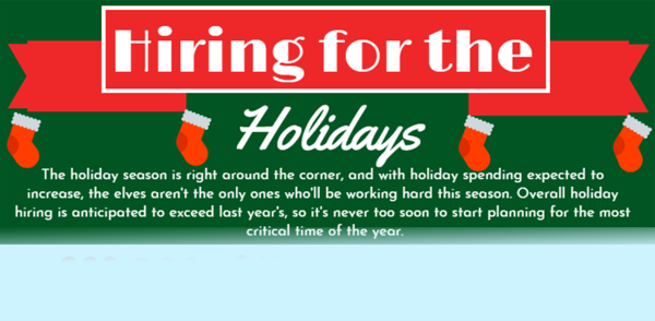 Hiring for the Holidays - Infographic