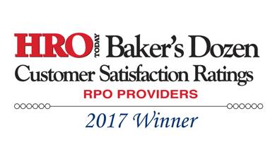 RPO Baker's Dozen List Includes Hire Velocity