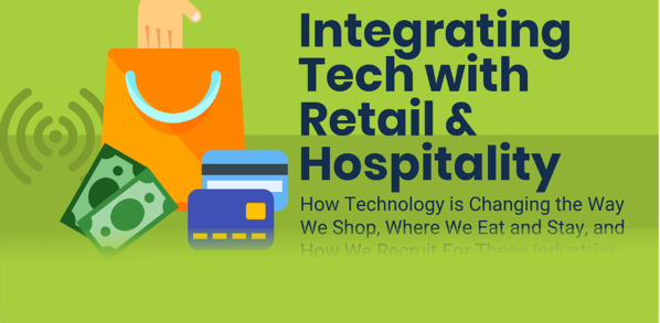 Integrating Tech with Retail and Hospitality - Infographic