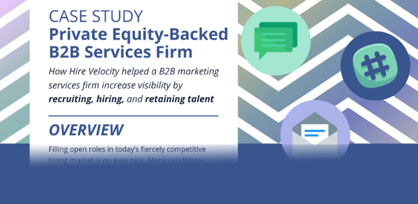 PE Backed B2B Services Firm - Case Study