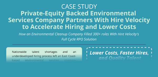 PE Backed Environmental Services Company - Case Study