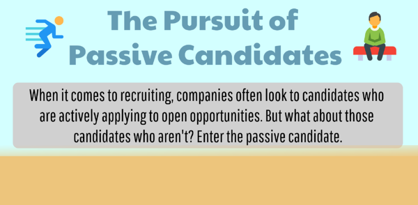 The Pursuit of Passive Candidates - Infographic