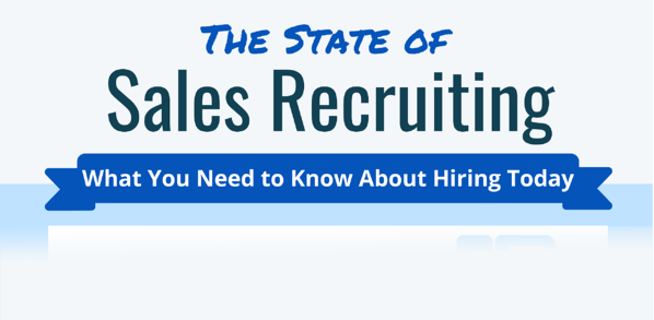 The State of Sales Recruiting - Infographic