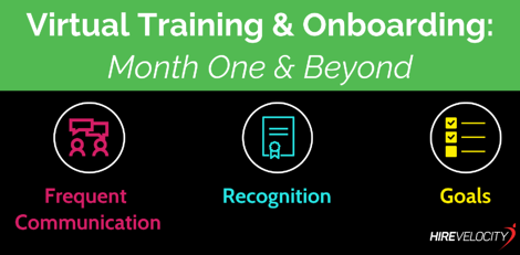 Virtual Training & Onboarding_Month 1 & Beyond_Remote Work_Hire Velocity